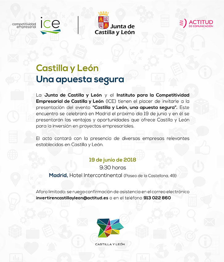 Save the date CyL Madrid
